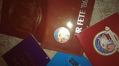 Highly collectable RAF Mildenhall Air Fete Programmes/Flight schedules/Calenders