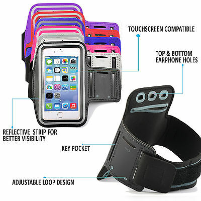 Quality Gym Running Sports Workout Armband Phone Case - Samsung Galaxy S7 Edge