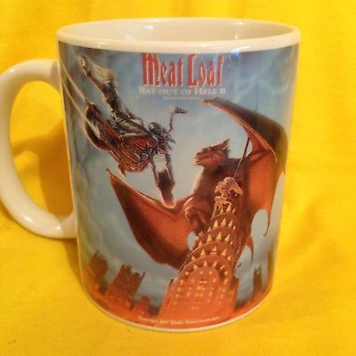 Meat Loaf-Bat Out Of Hell 2 Back Into Hell 1993- Album Cover -On A Mug