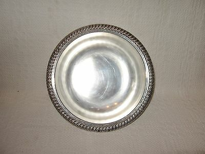 Vintage - Silverplate on Copper 9-Inch Bowl by World Silver