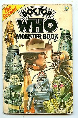 the second Doctor Who Monster Book 1977