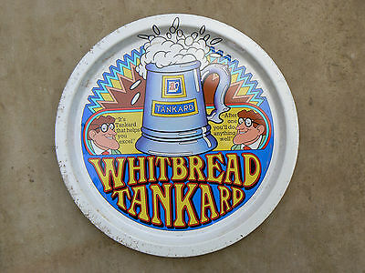 Whitbread Brewery Tray 1970's Metal Box