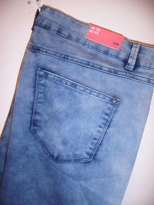 Ladies (Yes, New Look) Supersoft Skinny Jeans Size 16 (Euro 44)