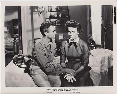 "Scene from ""A Man Called Peter"" 1955 Vintage Movie Still"