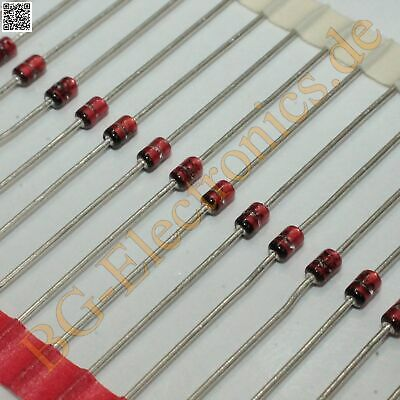 20 x BZX85C15 15V, 1W Zener Diode, AXIAL LEADED; GLASS BZX85C15-TR Vishay  20pcs