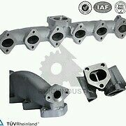 Collettore scarico bmw 5525d 530 x3 x5 330d 730d ghisa nuovo