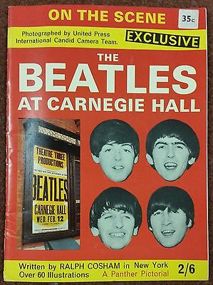 BEATLES  At Carnegie Hall 1964 magazine - RARE Collectible