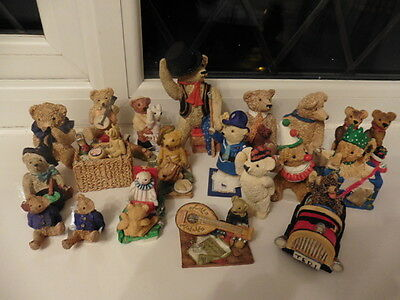 Peter Fagan (20 pieces) - Selling My Much-Loved Collection of Bears