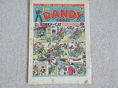 THE DANDY COMIC-No 197-Date 20th Sept 1941  -Very rare War time comic-