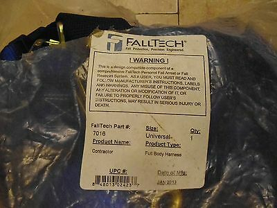 Falltech Fall Protection Safety Harness with 1 D-Ring Mating 7016
