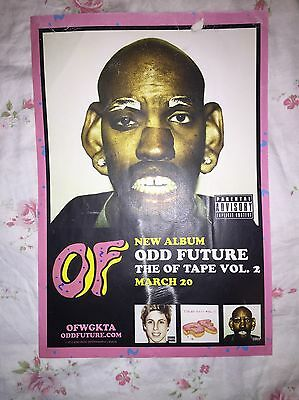 Rare Odd Future Poster Tyler The Creator Golf Wang Earl Sweatshirt