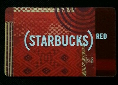 Starbucks Card - (STARBUCKS) RED Tapestry Limited Edition