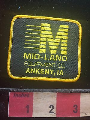 Ankeny Iowa MID-LAND EQUIPMENT CO. Patch 71LL