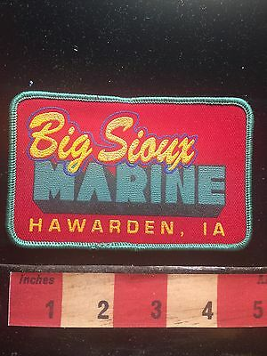 Hawarden Iowa Patch ~ BIG SIOUX MARINE ~ Boat & Water Recreation 71LL