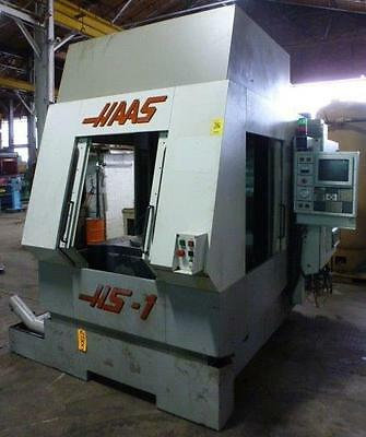Haas Model HS1 Horizontal Machining Center, w/ 4th Axis and Haas CNC Control