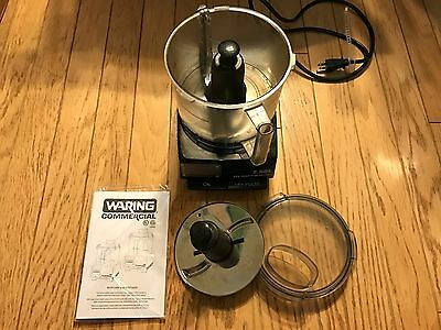 Waring Commercial WFP11SW Sealed Space-Saving Batch Bowl Food Processor with Liq