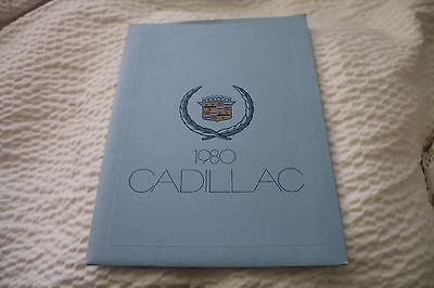 NOS 1980 Cadillac complete line up press kit,
