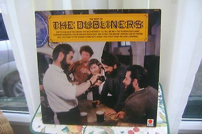 the best of the DUBLINERS 12 in lp RARE COPY