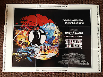 James Bond 007 -The Living Daylights - 9 Card Set - 40th Anniversity  2007