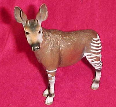 Okapi Schleich Retired 2006 14361 Wildlife Animal Toy Collectible Figurine