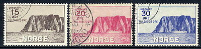 NORWAY 1930 Tourist Association set used