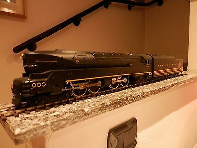 M.T.H. Pennsylvania  streamlined  T 1   4-4-4-4  Duplex 2 rail  scala 0