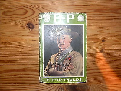 """UK Scouting Book """"B.P. A Story of his Life"""", 1943, Hardback, 123 Pages"""
