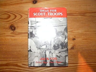 """UK Scouting Book """"Ideas for Scout Troops"""", 1961, Hardback, 126 Pages"""