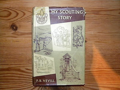 """UK Scouting Book """"My Scouting Story"""", 1960, Hardback, 228 Pages"""