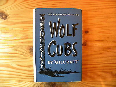 """UK Scouting Book """"Wolf Cubs Gilcraft, 1961, 153 Pages, Hardback"""