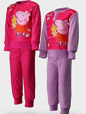 Bnib Peppa Pig Pyjamas Age 5 Pink Fleece In Presentation Box
