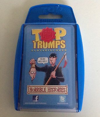 Top Trumps Cards - Horrible Histories