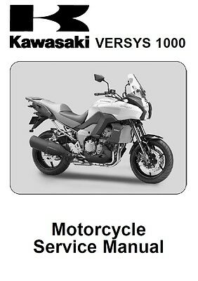 Kawasaki Versys 1000 Service Repair Maintenance Manual (2012-2014) [**PDF**]