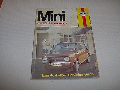 Haynes BLMC Mini owners hand book models from 1959 1978/79  (ref 380)