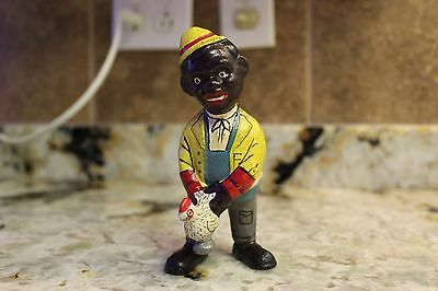 Solid Cast Iron Black Americana Chicken Chaser