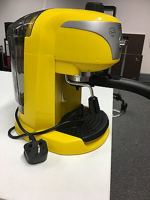 Delonghi ECC 220 Y Coffee Machine Esspresso Filter Yellow Barista