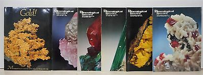 The Mineralogical Record Volume Eighteen Number One - Six, 1987