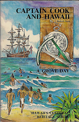 Vintage 1977 CAPTAIN COOK AND HAWAII by A. Grove Day, Cultural Heritage Series