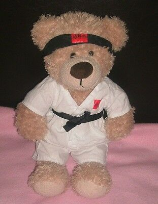 Design A Bear Teddy / Soft Toy In Martial Arts Outfit