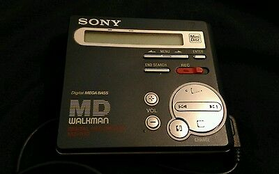 Sony MZ-R70 Walkman Mini Disk Player Recorder bargain VGC tested