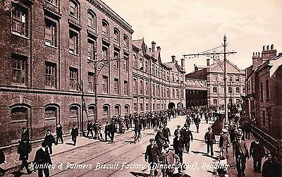 Postcard: Huntley And Palmers Biscuit Factory: Reading