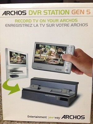 NEW! Archos DVR Station and Dock Gen 5 (Open Box)