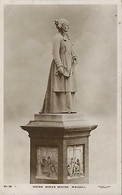 Sister Dora's Statue,walsall (Chidley) 1919