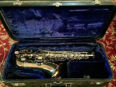 Rare Circa 1907-10 Evette Schaeffer Buffet Paris Alto Saxophone Great Condition