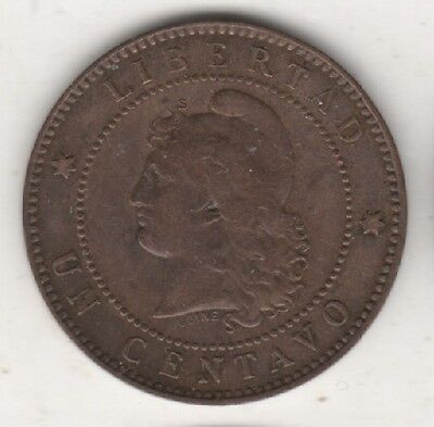 Argentina Lot 9 Coins 1884 - 1893