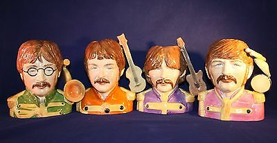 """Peggy Davies Character Jugs """"The Beatles"""" Artist Proofs"""