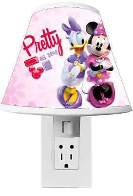 Minnie Mouse and Daisy Night light Room Decor