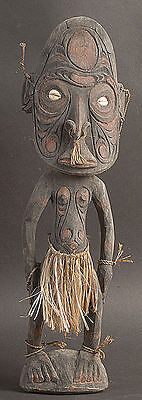 Male Ancestor Spirit Figure  Middle Sepik River  Papua New Guinea