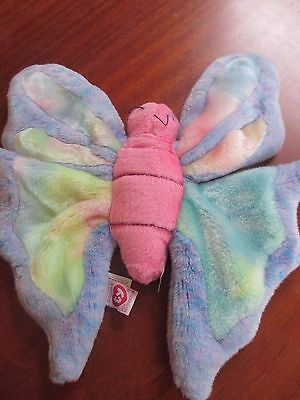 Ty beanie collection - multicoloured butterfly excellent condition