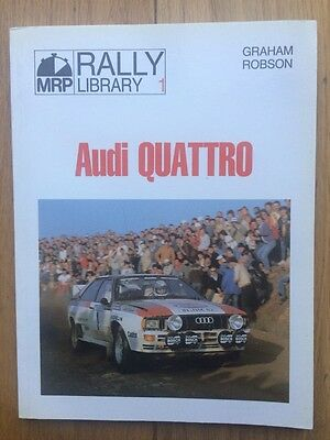 Audi Quattro - Mrp Rally Library No 1 - Graham Robson